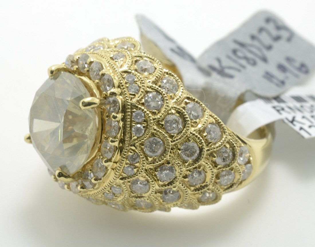 Diamond Dome Ring Appraised Value: $67,100 - 4