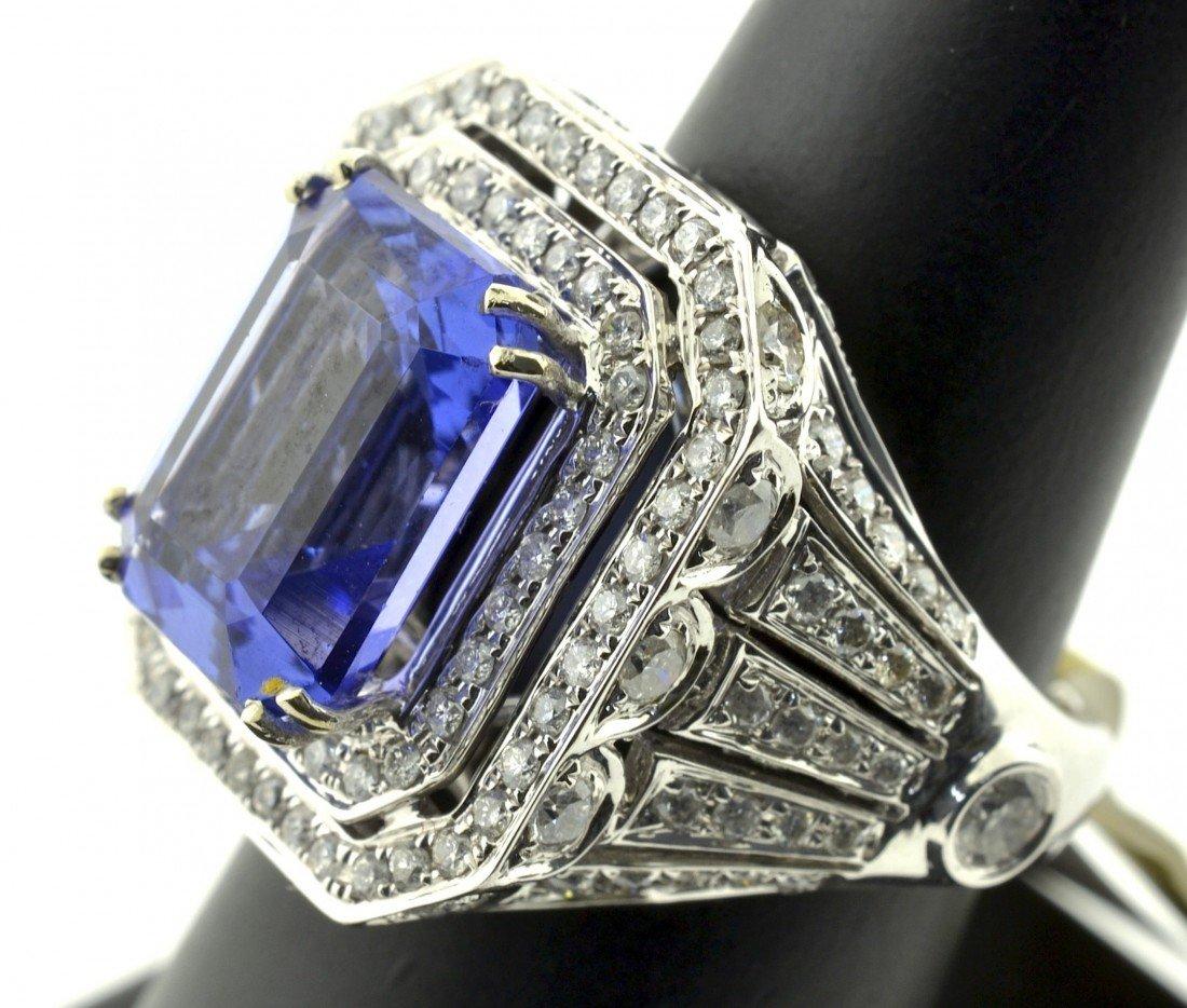 Tanzanite and Diamond Ring Appraised Value: $26,880