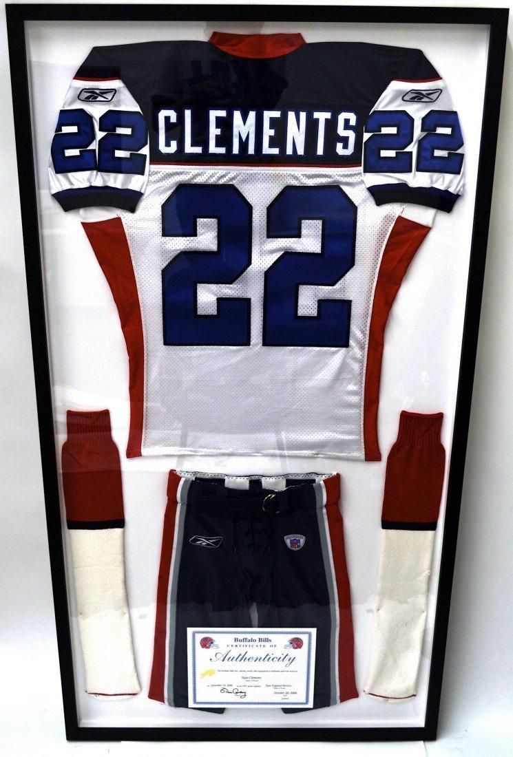 Nate Clement's Buffalo Bill Uniform