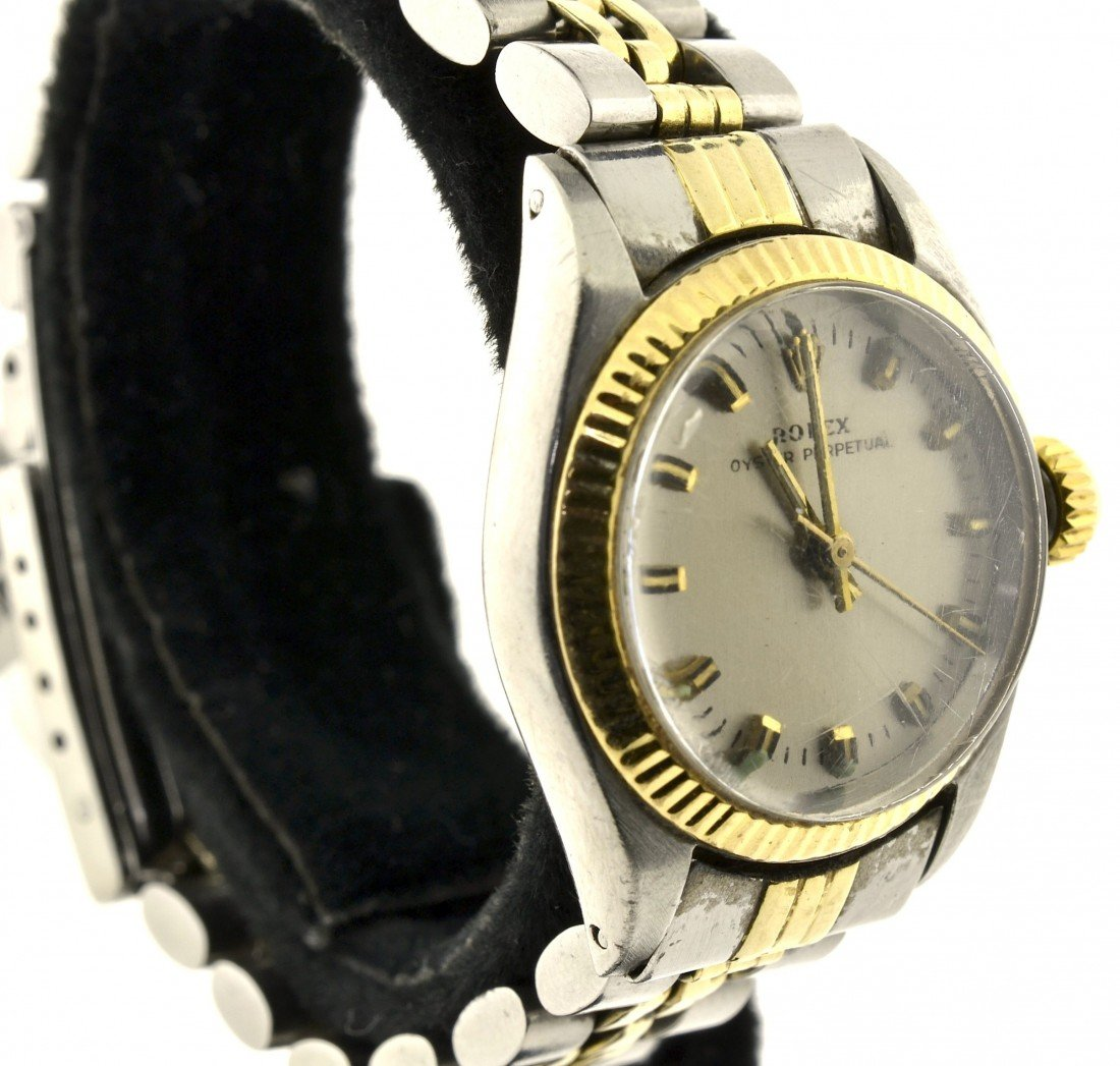 Lady Rolex Two Tone Watch Appraised Value: $5,350