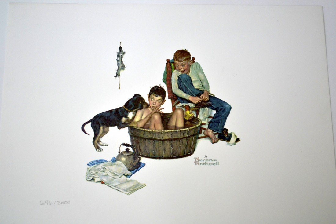 """Normal Rockwell's """"ME AND MY PAL SUITE"""" Art"""