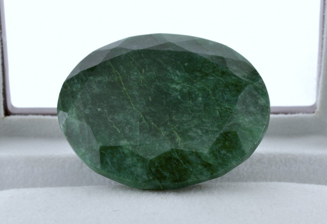192.05 CTS Emerald Stone Appraised Value: $12,099