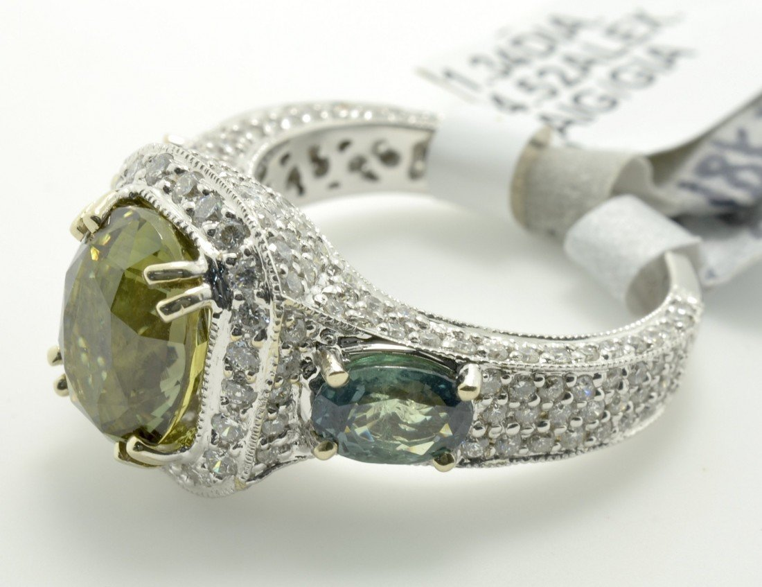 Alexandrite and Diamond Ring Appraised Value: $44,250