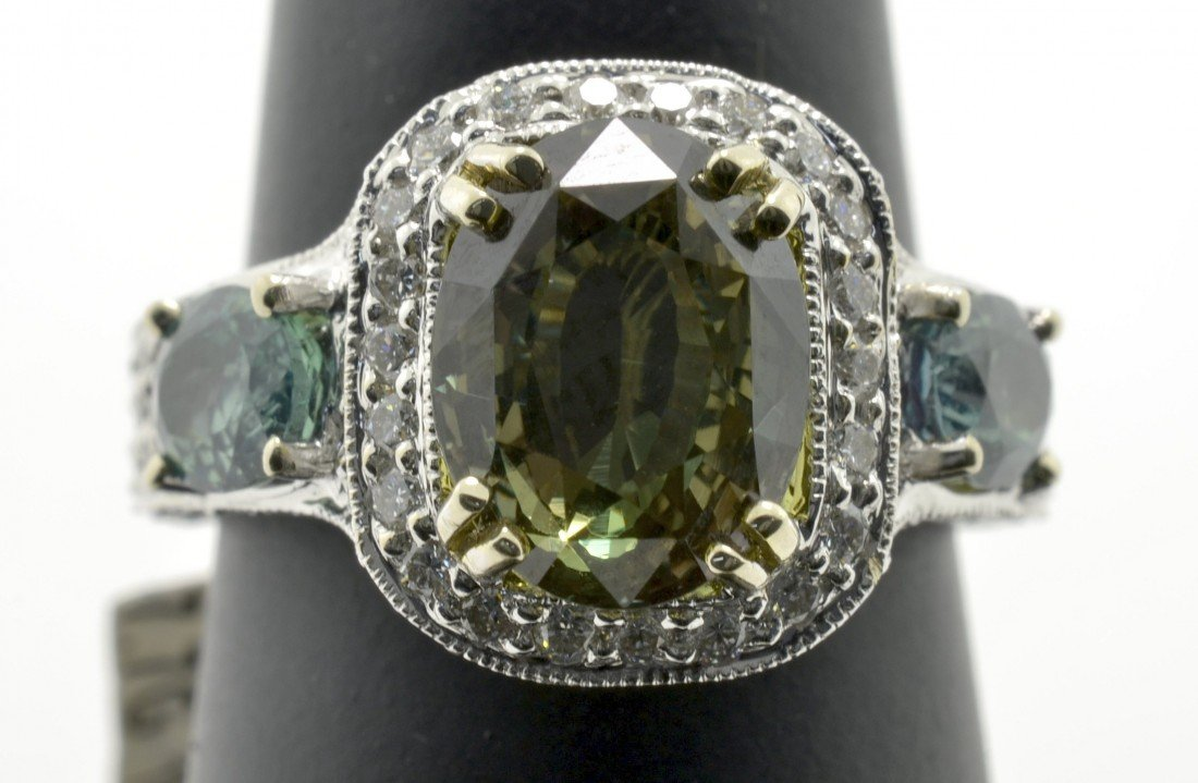 Alexandrite and Diamond Ring Appraised Value: $44,250 - 4