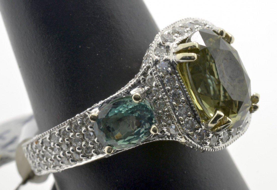 Alexandrite and Diamond Ring Appraised Value: $44,250 - 5