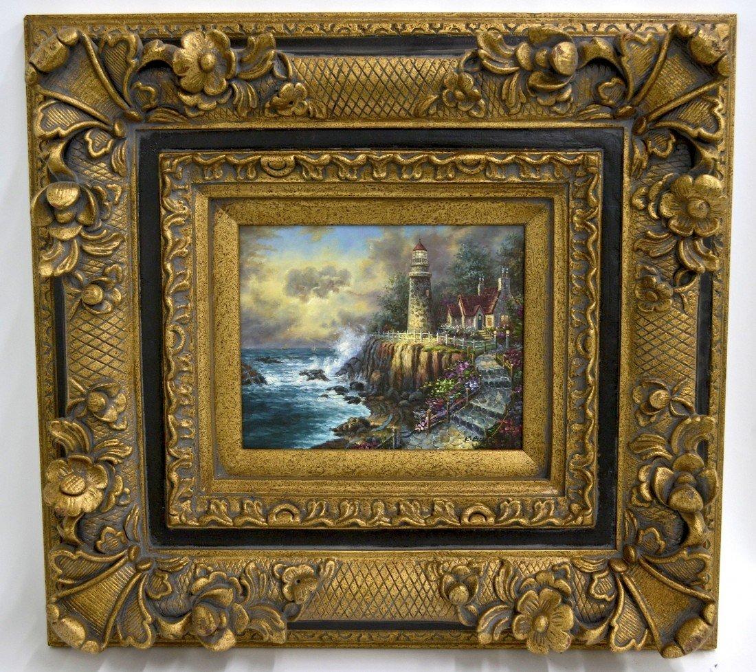 K. Burt's Oil Painting