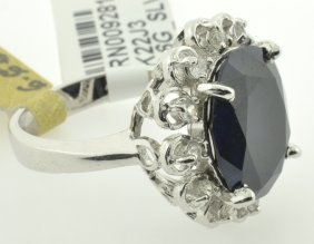 Sapphire Ring Appraised Value: $12,593