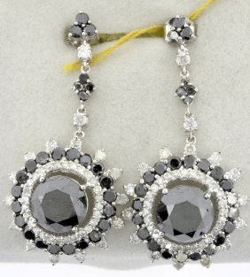 Diamond Earrings Appraised Value: $23,437