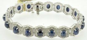Sapphire Bracelet Appraised Value: $20,161