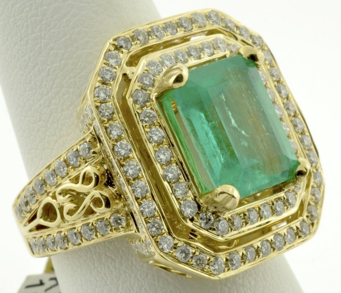 Emerald and Diamond Ring Appraised Value: $19,880