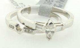 Diamond Engagement Ring Appraised Value: $3,473