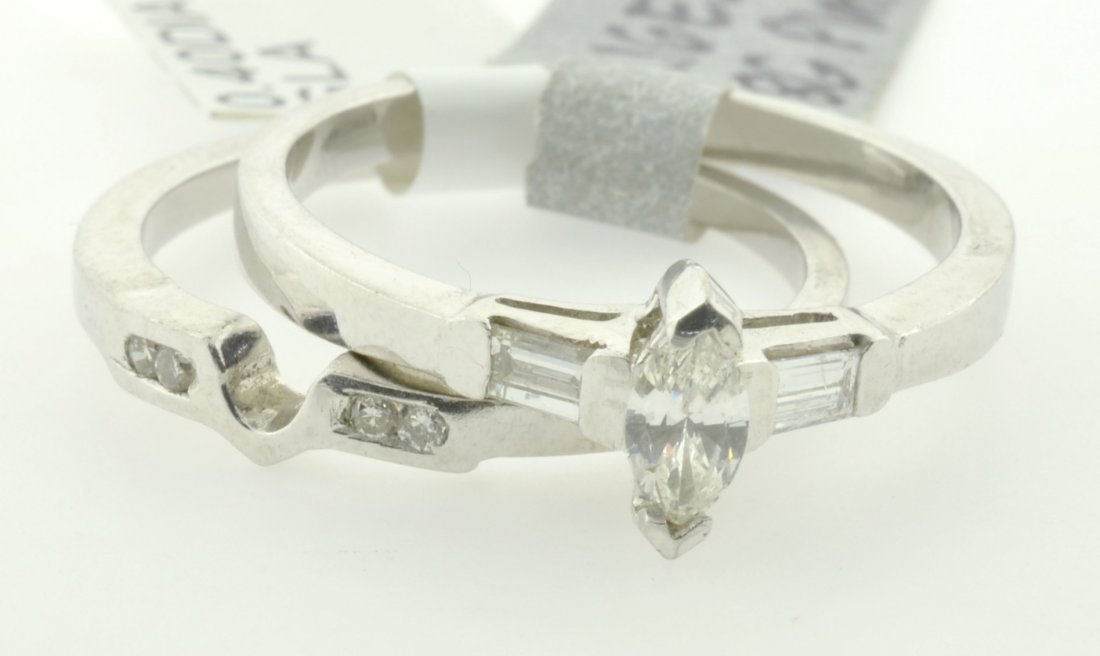 Diamond Engagement Ring Appraised Value: $3,473