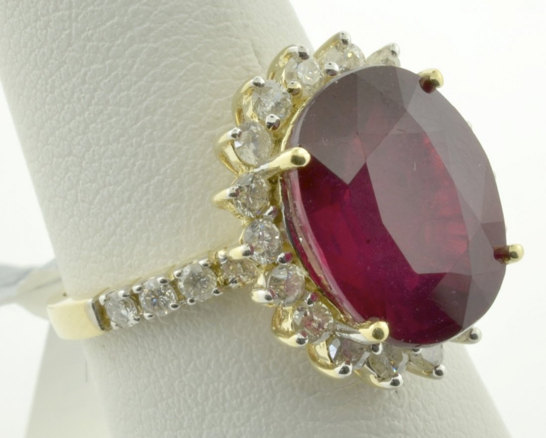 Ruby and Diamond Ring Aprraised Value: $24,999