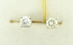 Diamond Earrings Appraised Value: $3,586