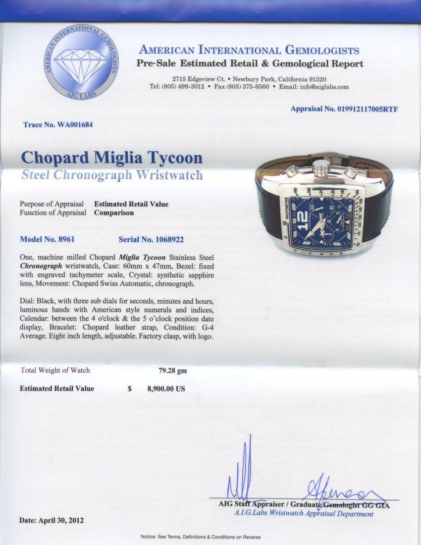 Chopard Miglia Tycoon Wristwatch Appraised Value: $8,90 - 2
