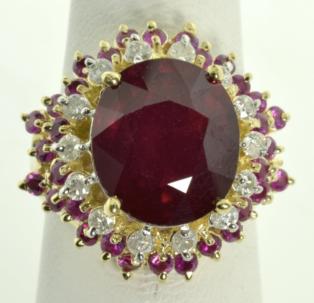Ruby and Diamond Ring Aprraised Value: $22,722