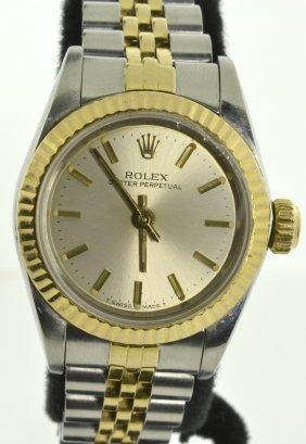 Lady Rolex Wristwatch Appraised Value: $5,600