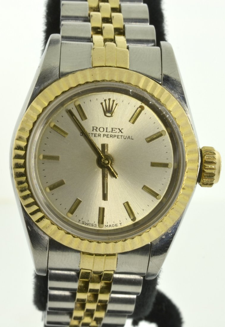 Lady Rolex Wristwatch Appraised Value: $5,600