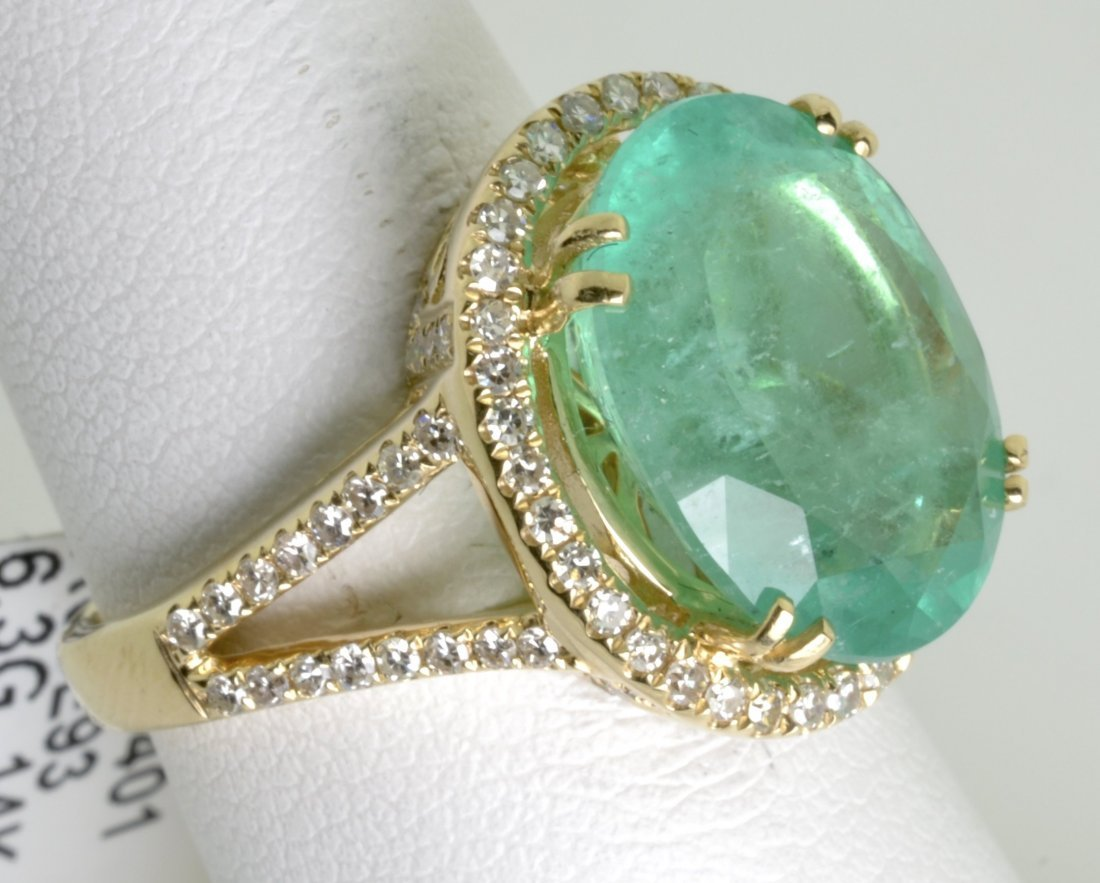 Emerald and Diamond Ring Appraised Value: $20,325 - 4