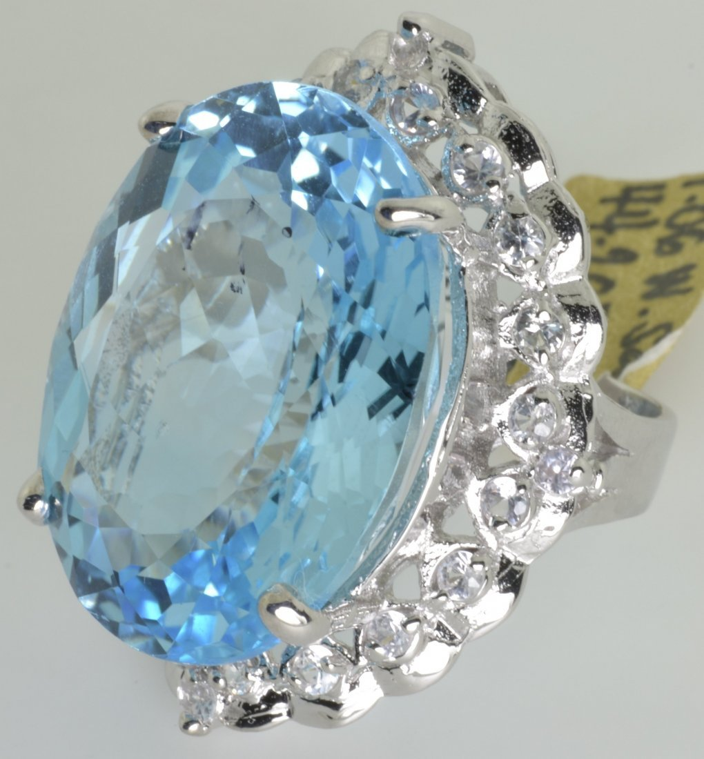 Topaz and Sapphire Ring Appraised Value: $4,693