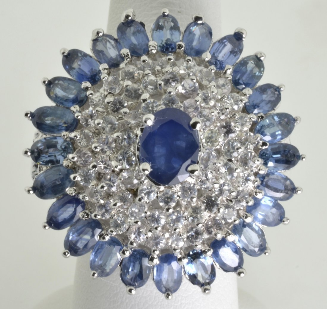 Sapphire Ring Appraised Value: $15,839 - 3