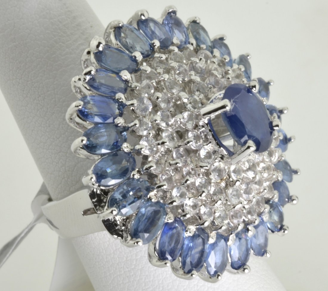 Sapphire Ring Appraised Value: $15,839 - 4