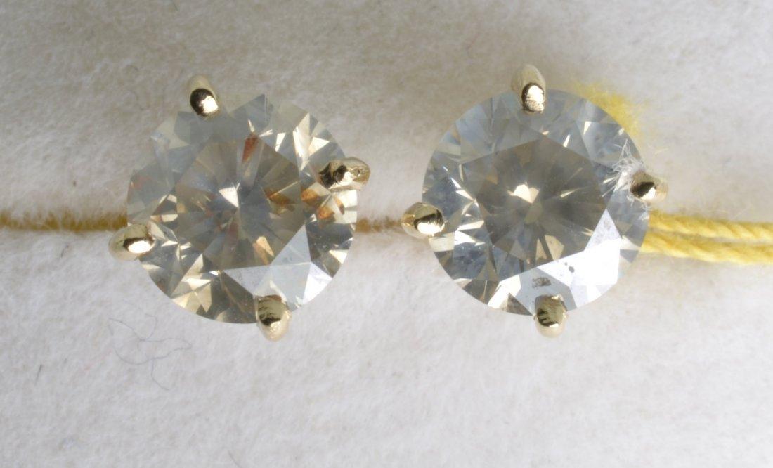 Diamond Earrings Appraised Value: $6,318