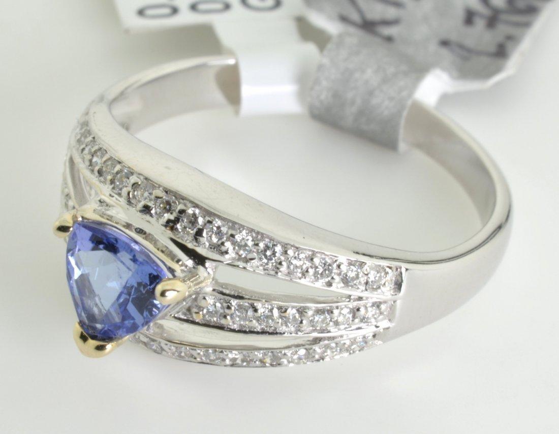 Tanzanite and Diamond Ring Appraised Value: $4,183