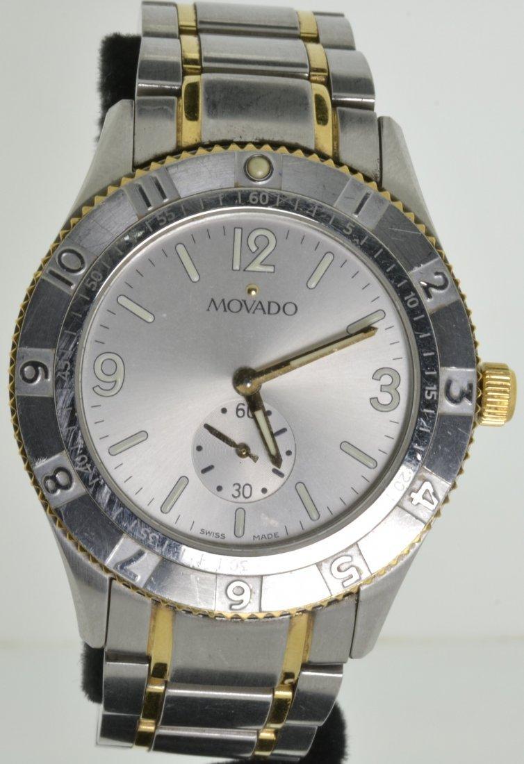 Movado Two-Tone Watch