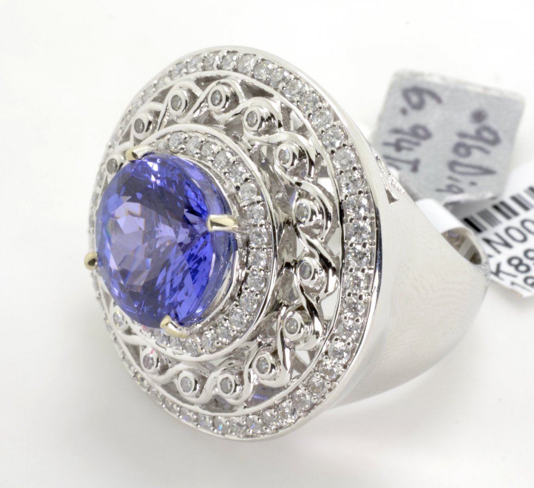 Tanzanite and Diamond Ring Appraised Value: $22,100