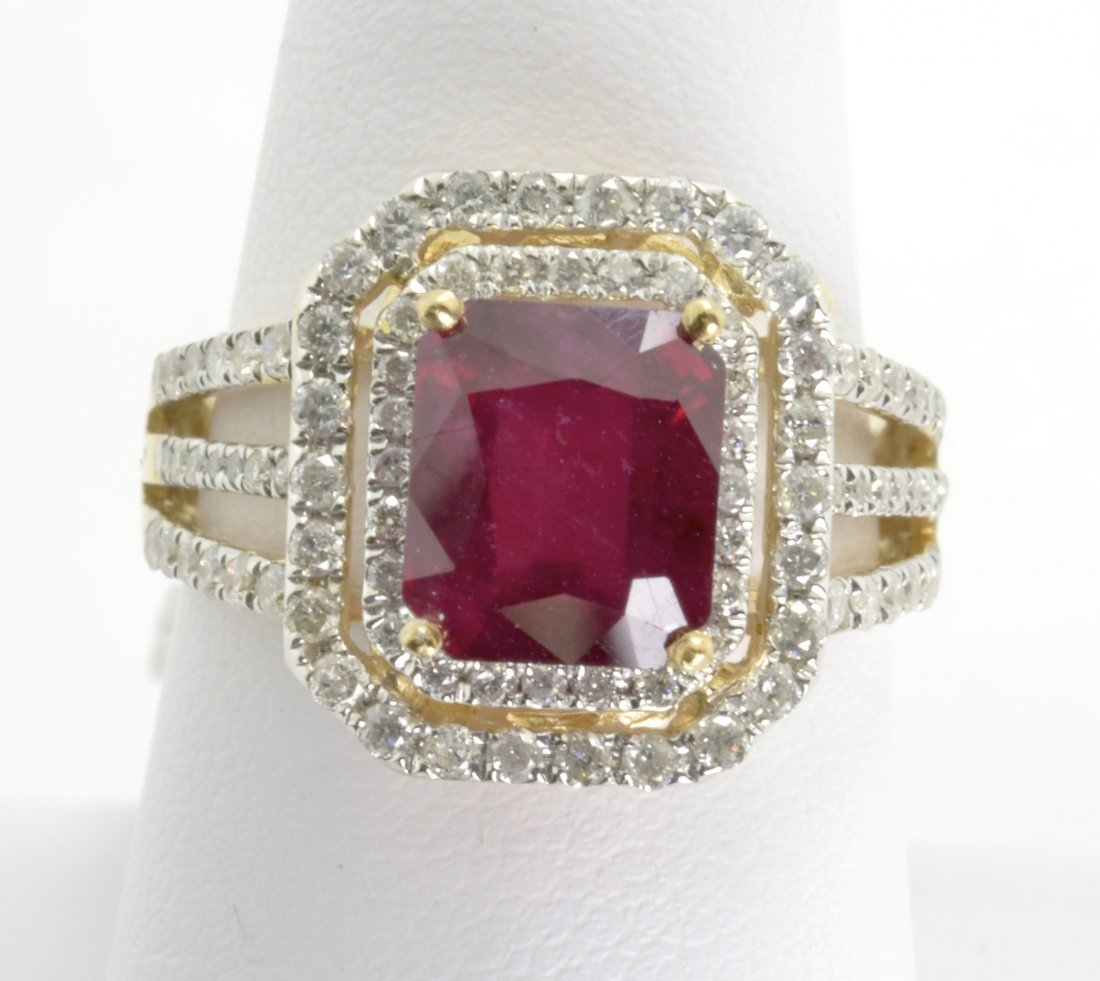 Ruby and Diamond Ring Appraised Value: $11,512