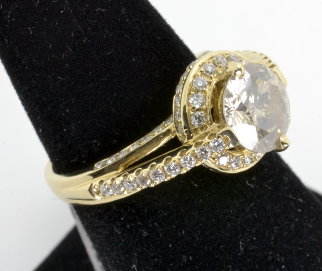 Diamond Ring Appraised Value: $19,575