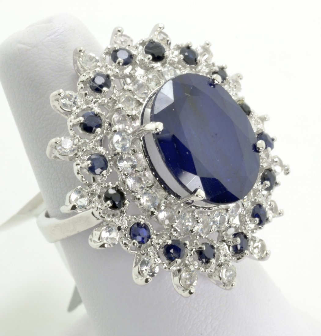 Sapphire Ring Appraised Value: $10,822