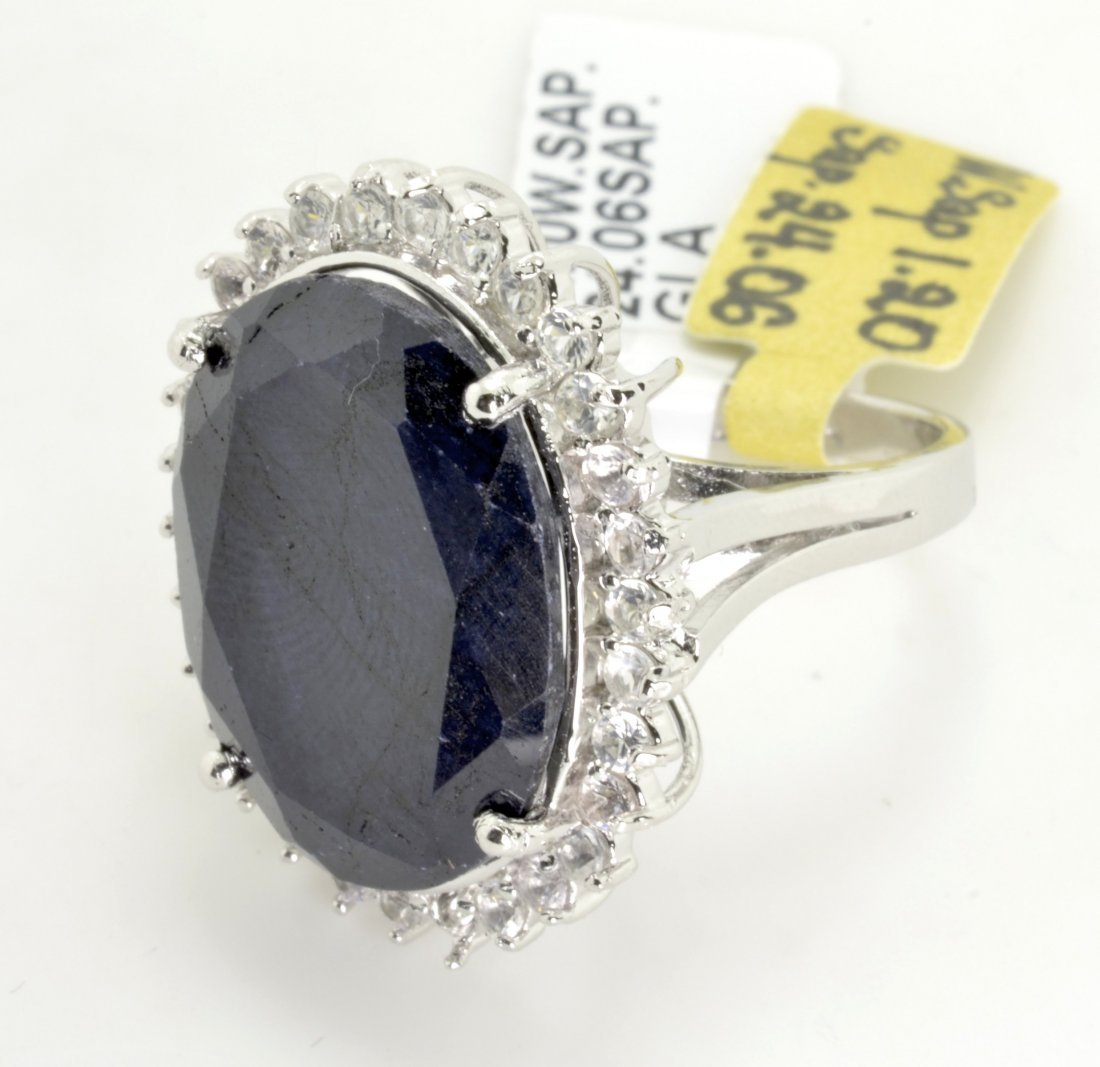 Sapphire Ring Appraised Value: $14,798