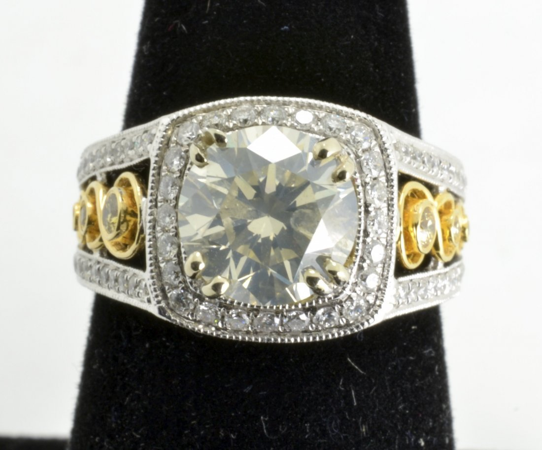 Diamond Unity Ring Appraised Value: $33,000