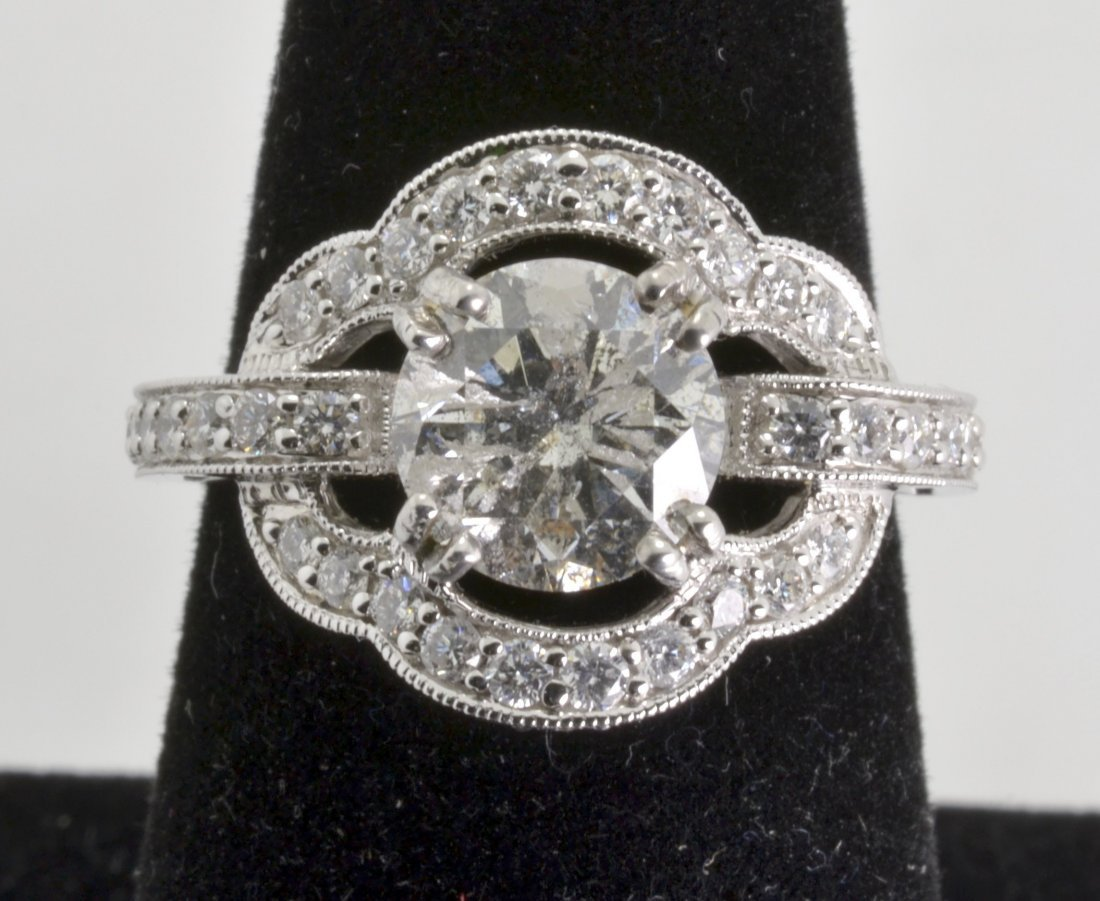 Diamond Ring EGL CERTIFIED Appraised Value: $45,000