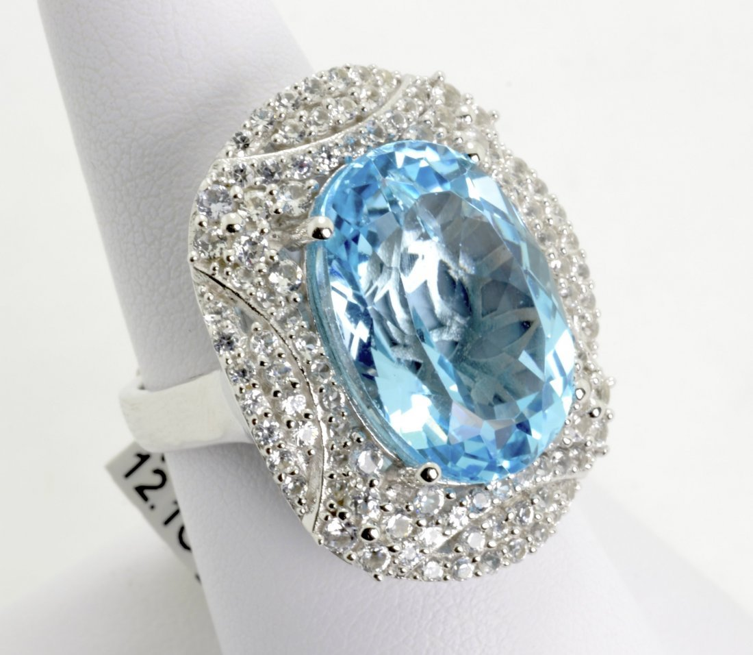 Topaz and Sapphire Ring Appraised Value: $6,271