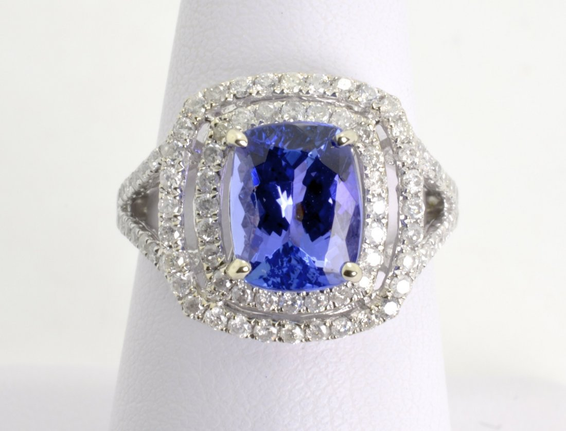 Tanzanite and Diamond Ring Appraised Value: $7,535