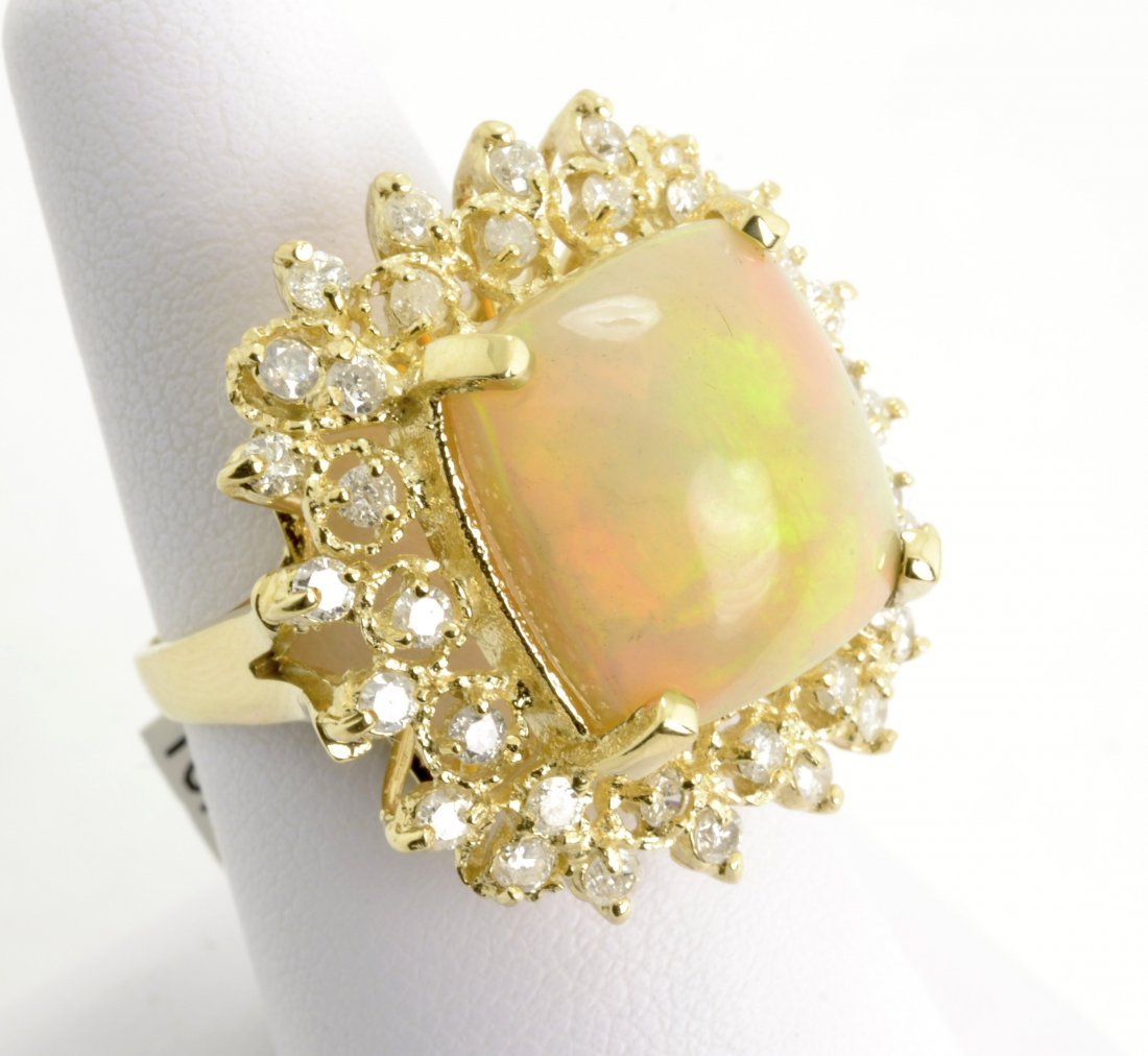 Opal and Diamond Ring Appraised Value: $7,700