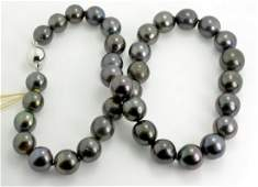 Tahitian South Sea Cultured Pearl Necklace AV 14329