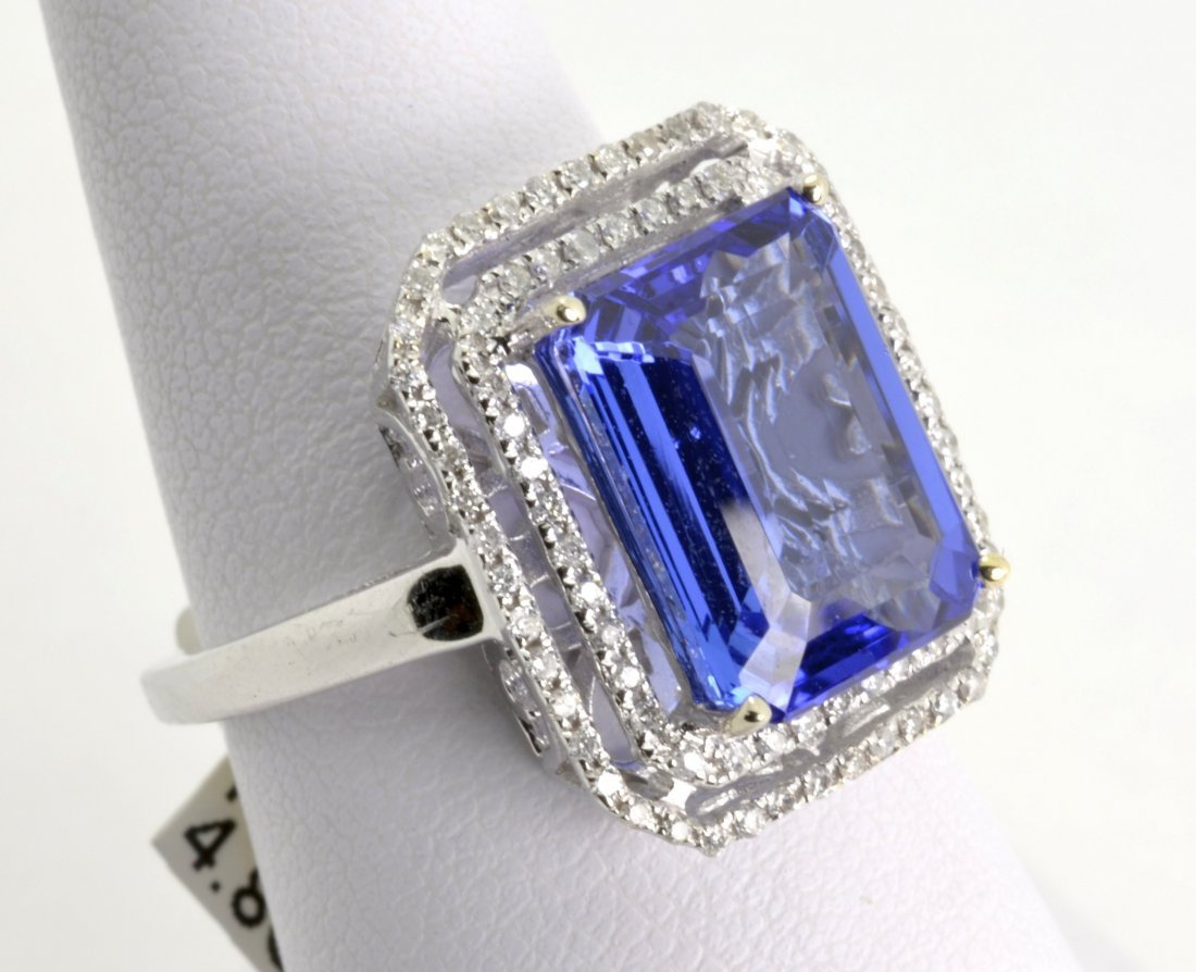Tanzanite & Diamond Ring Appraised Value: $13,225