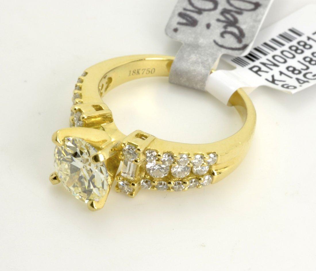 Diamond Ring Appraised Value: $38,000 (EGL CERTIFIED)