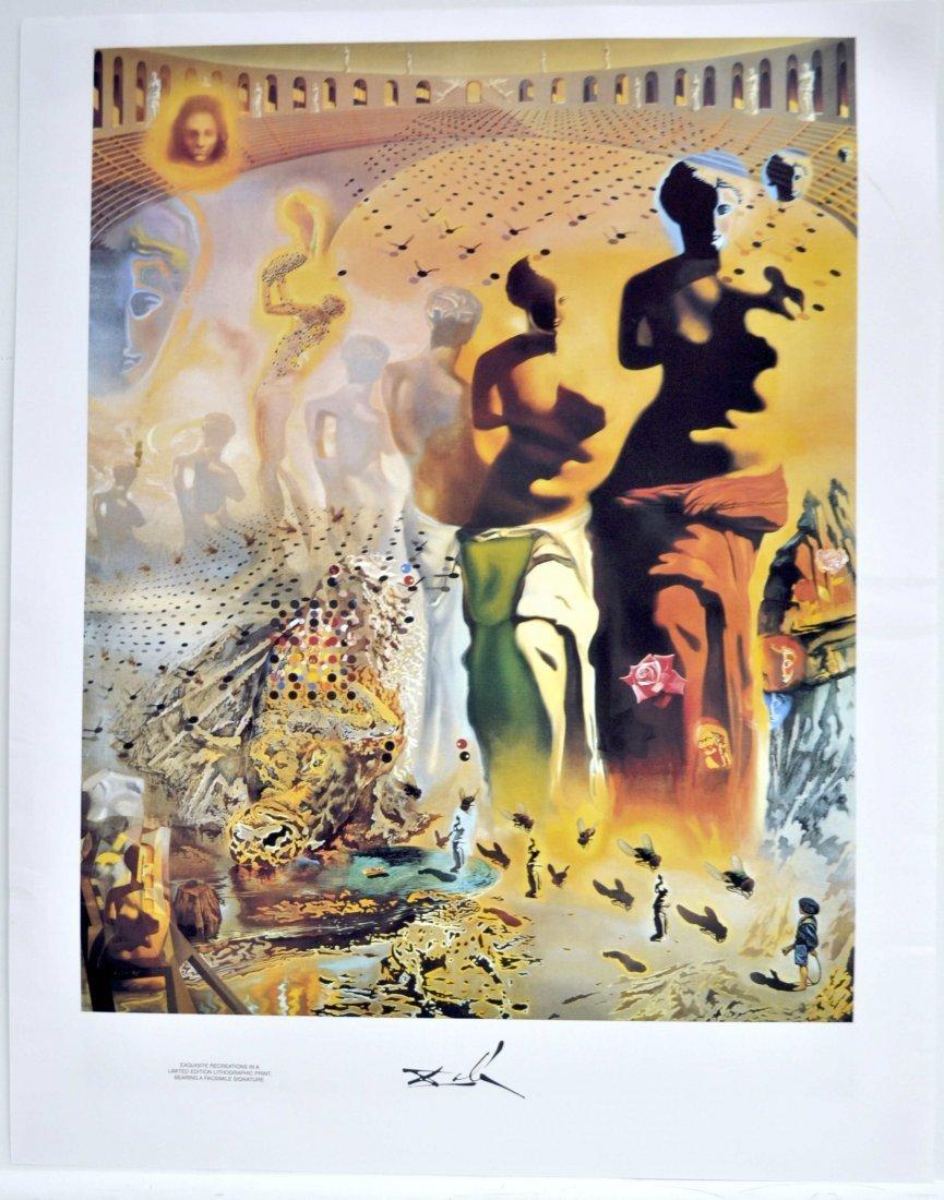 "Salvador Dali's ""The Hallucinogenic Toreador"" Art"