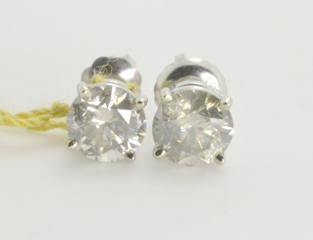 Diamond Earrings Appraised Value: $4,123