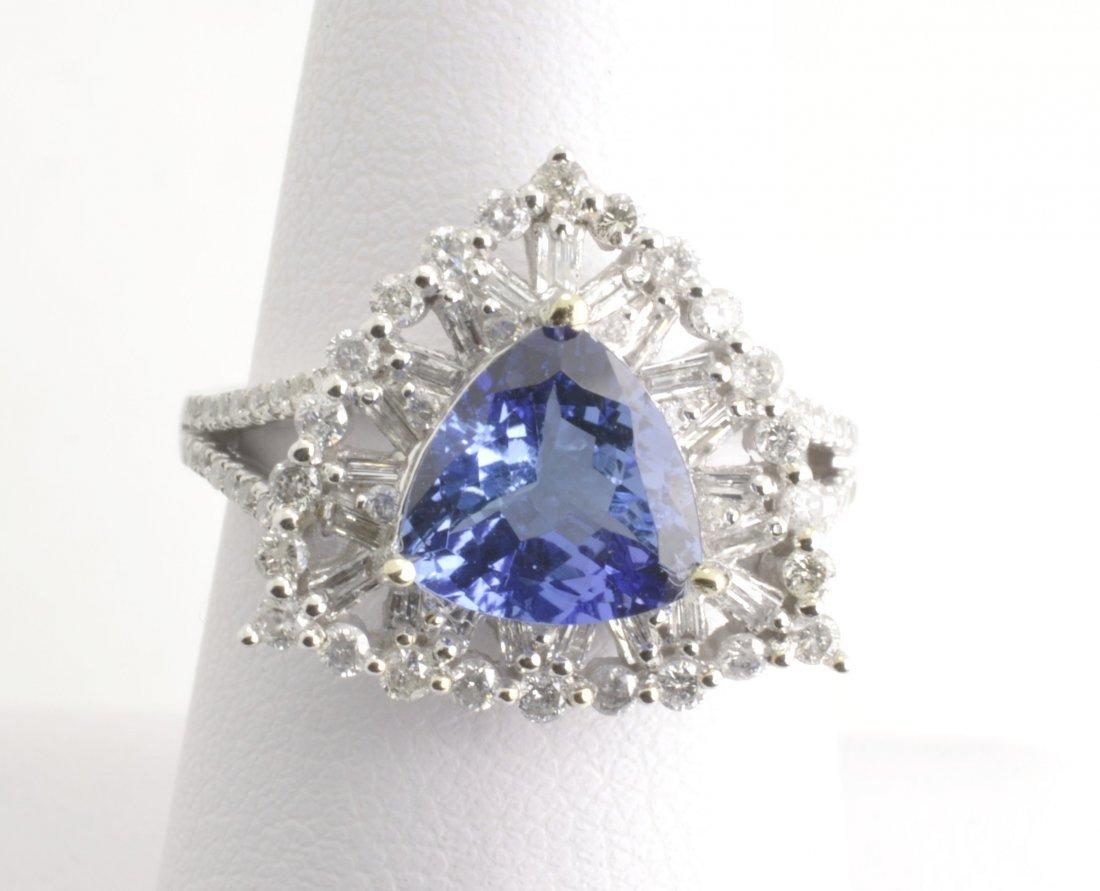 Tanzanite & Diamond Ring Appraised Value: $5,250