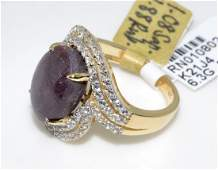 Ruby  Sapphire Ring Appraised Value 5251