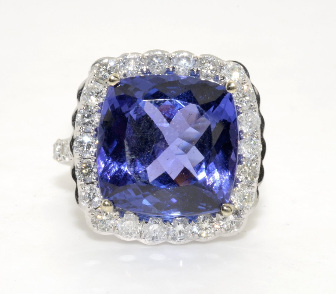 Tanzanite & Diamond Ring Appraised Value: $41,265