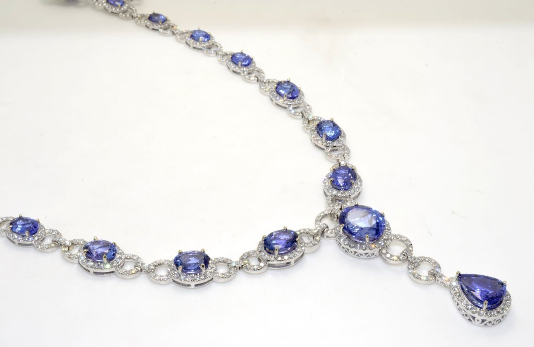 Tanzanite & Diamond Necklace AV: $99,220