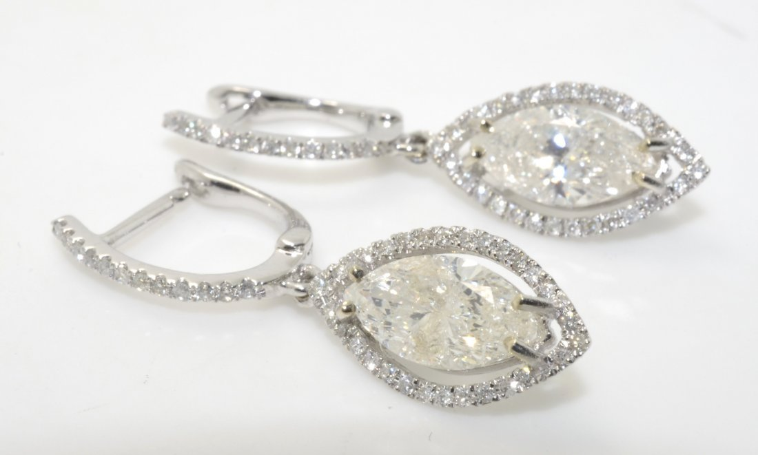 Diamond Earrings Appraised Value: $17,880