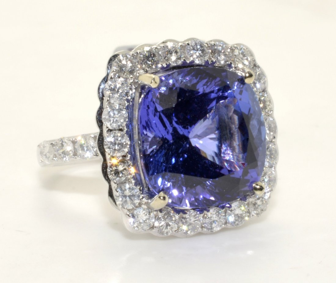 Tanzanite & Diamond Ring Appraised Value: $41,000